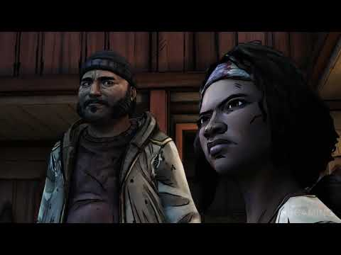 The Walking Dead Michonne Episode 1 walkthrough no commentary Full Episode Game Gameplay