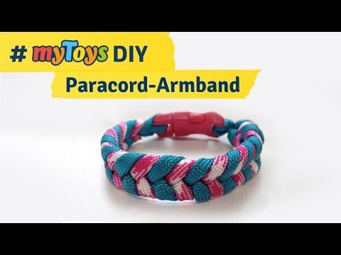 Anleitung: Paracord-Armband knüpfen