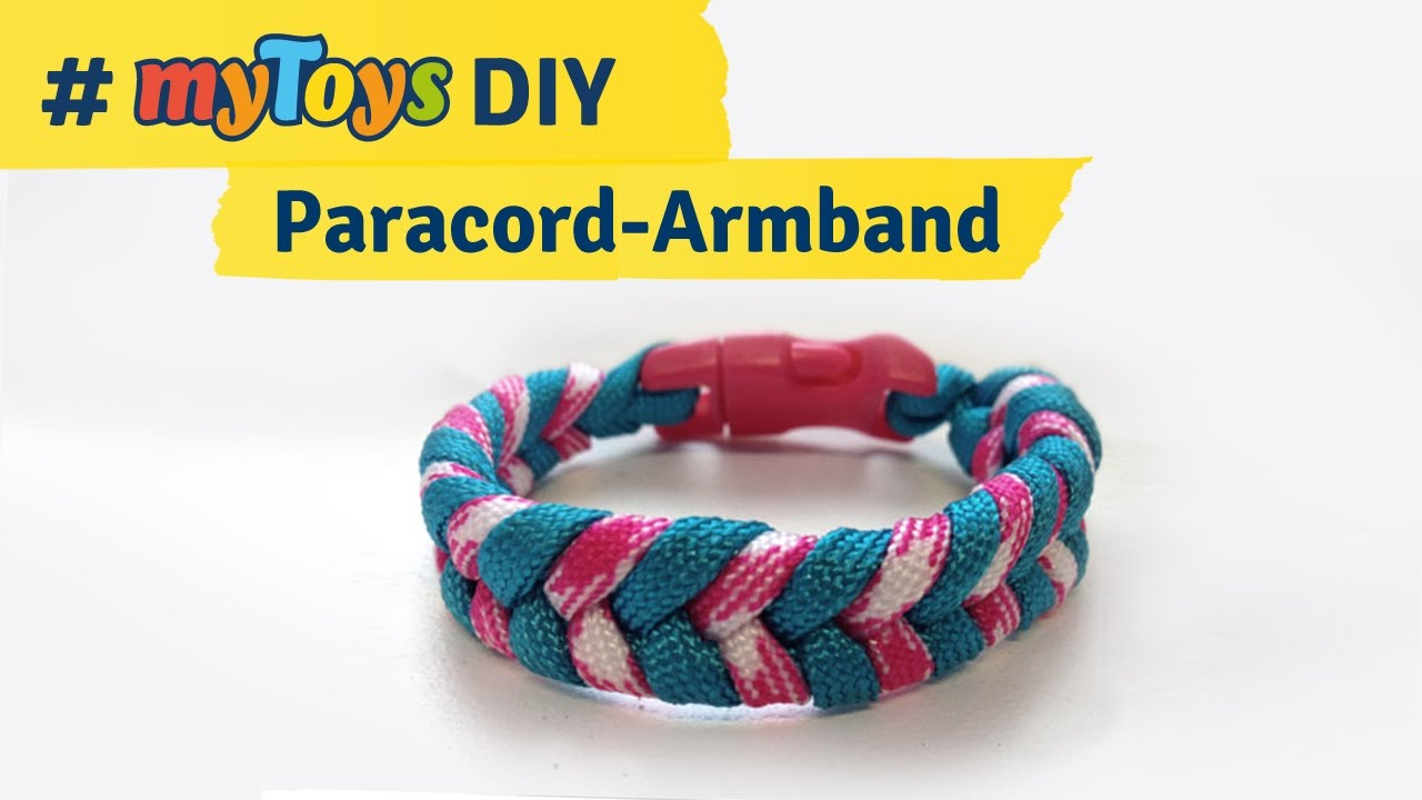 Sehr Anleitung: Paracord-Armband selber machen - YouTube RN85