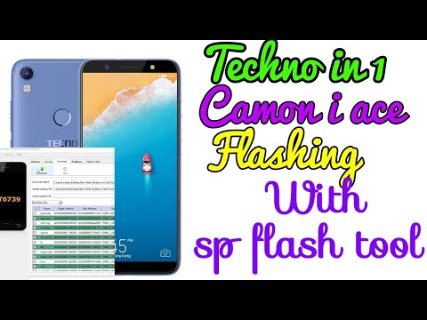 Tecno IN1 Camon iAce flashing In Roster problem