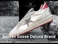 GOLDEN GOOSE Deluxe Brand Ballstar 'white/red' | UNBOXING & ON FEET | luxury shoes | 2018