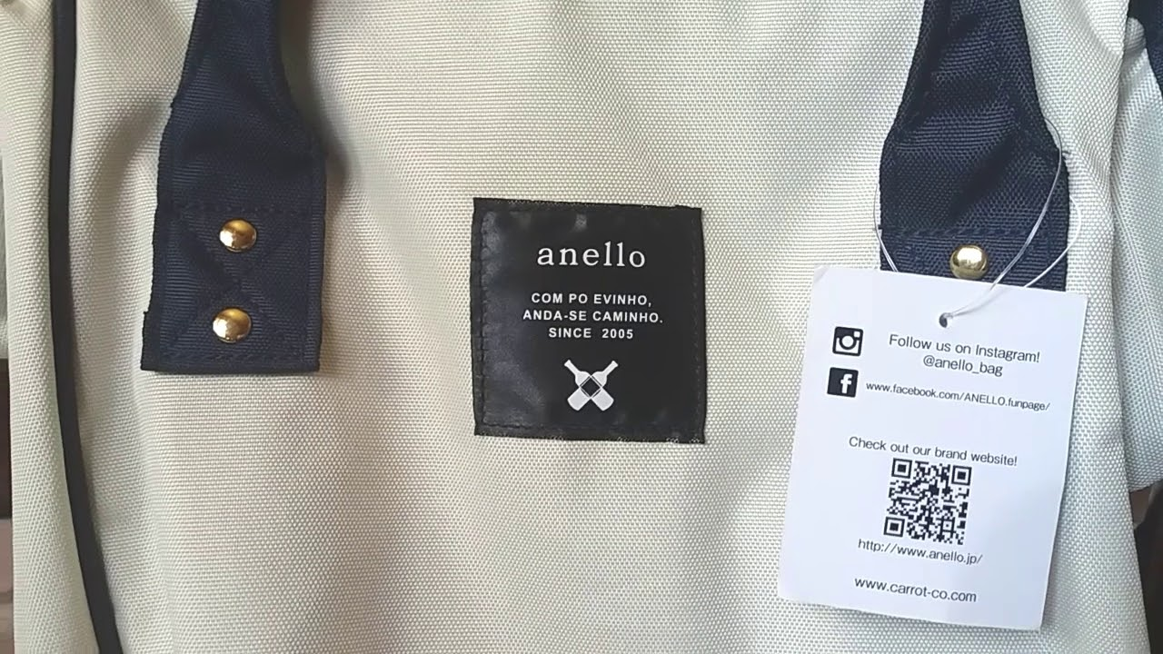 0074d670f3 Anello Authentic Backpack (Close Up) - YouTube