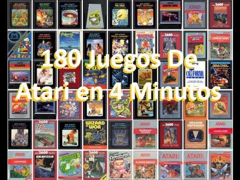 180 Juegos De Atari En 4 Minutos Youtube