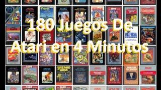 180 Juegos De Atari En 4 Minutos