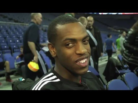 NBA Bucks Khris Middleton Hangs With Benny Bonsu | Interviews