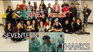SEVENTEEN(세븐틴) - 고맙다(THANKS) M/V Reaction by SoNE1