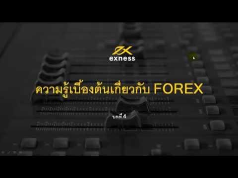 ความรู้เบื้องต้นเกี่ยวกับ-forex-บทที่-4