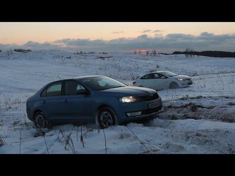 Городские авто в снегу. Кто лучше ? - Познавательные и прикольные видеоролики