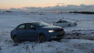 Городские авто в снегу  Кто лучше ?