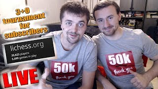 agadmator's 50.000 Subscribers Tournament Livestream - lichess.org