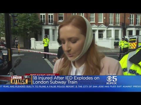TERRORIST ATTACK:  Bomb explodes on London Subway train; 18 injured