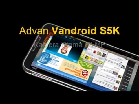 Advan Tablet Vandroid S5K Smartnote Android Kamera 13MP Harga n Spek