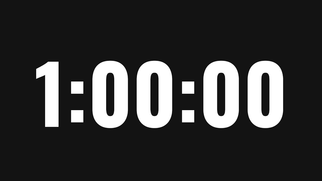 Download 1 Hour Timer