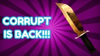 I GOT MY CORRUPT KNIFE BACK!!! (ROBLOX MURDER MYSTERY 2)