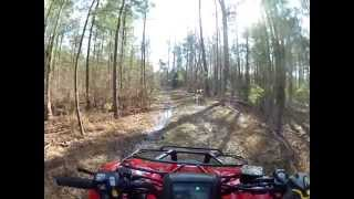 Honda Rancher 420AT: Gets A Winch And Travels To Stolen Stand Field