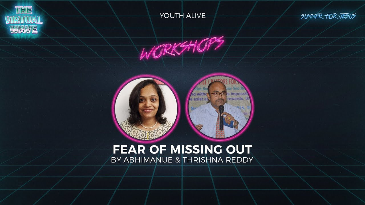 The Fear of Missing Out | By Abhimanue & Trishna TReddy