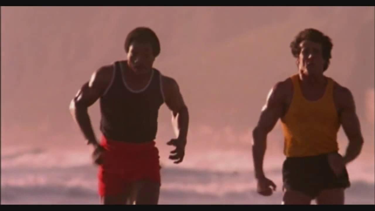 Rocky Balboa Apollo Creed Entrenamiento