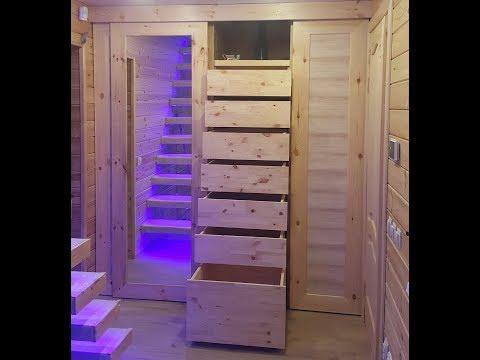 Построить шкаф купе из сосны своими руками