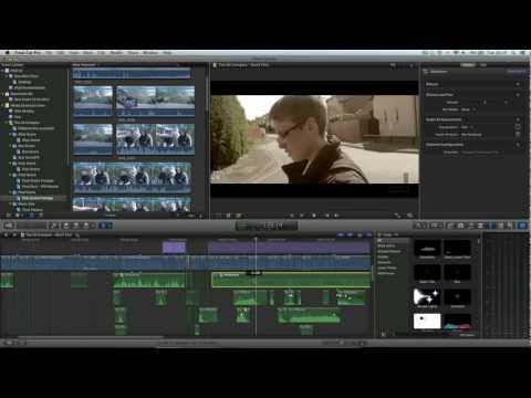 Final Cut Pro X Advanced Tutorial - 5.1 Surround Sound Mixing