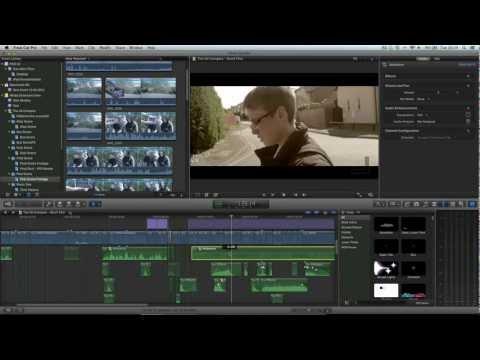 Final Cut Pro X Advanced Tutorial - 5.1 Surround Sound Mixing