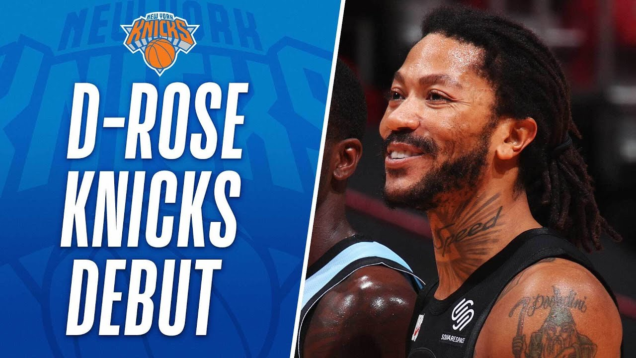 ???? Derrick Rose Returns To The Knicks With 14 PTS & 3 AST ????