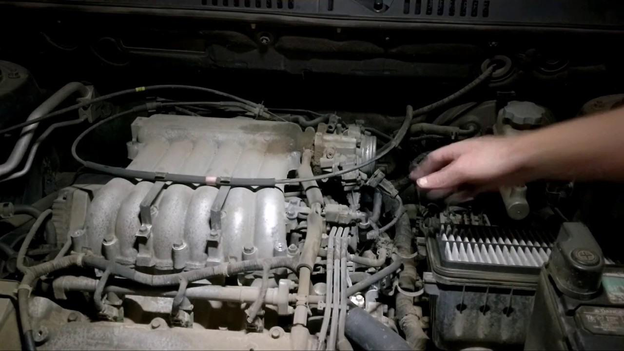 Replace Idle Control Valve On 2005 Hyundai Santa Fe 2 7l