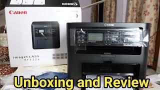 Canon imageCLASS MF232W printer unboxing and review in hindi