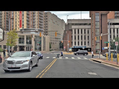 Driving Downtown - Silver Spring Maryland USA