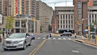 Driving Downtown - Silver Spring 4K - Maryland USA