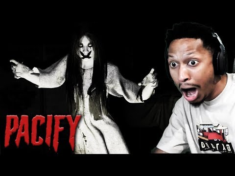 GET THIS NASTY GIRL OFF ME!! | Pacify - Horror Game
