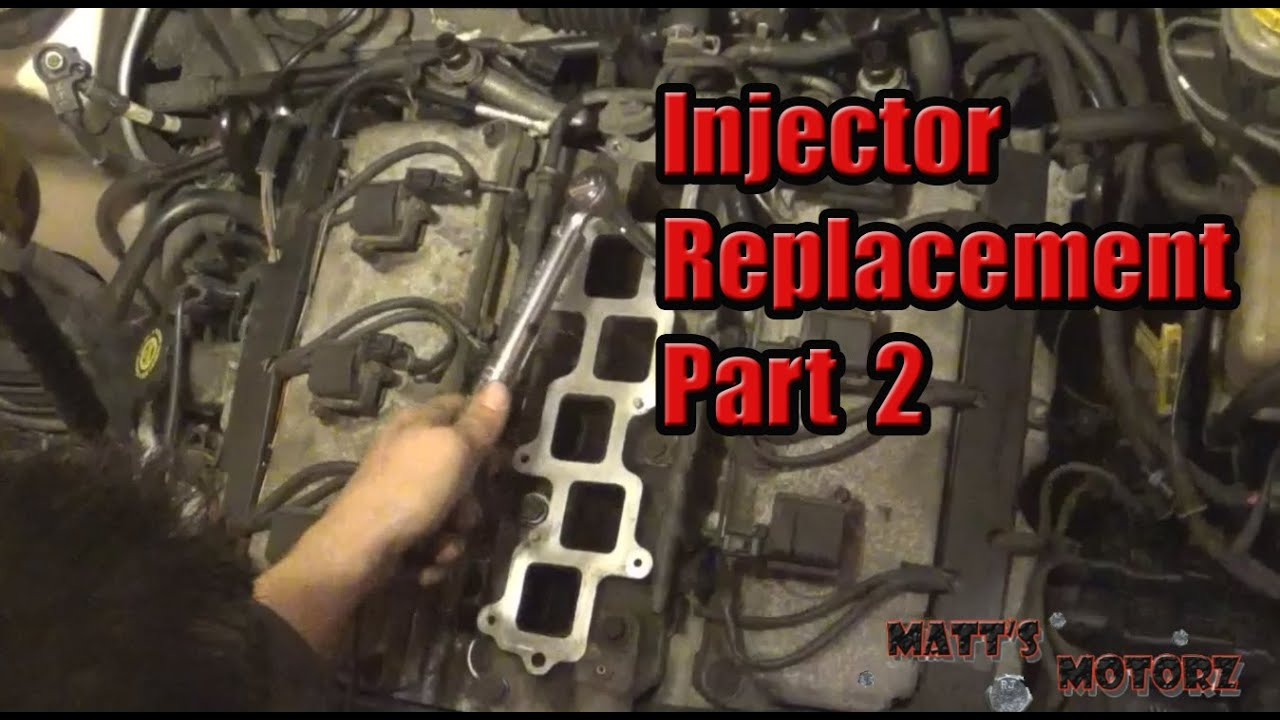 Chrysler 300 fuel injector replacement
