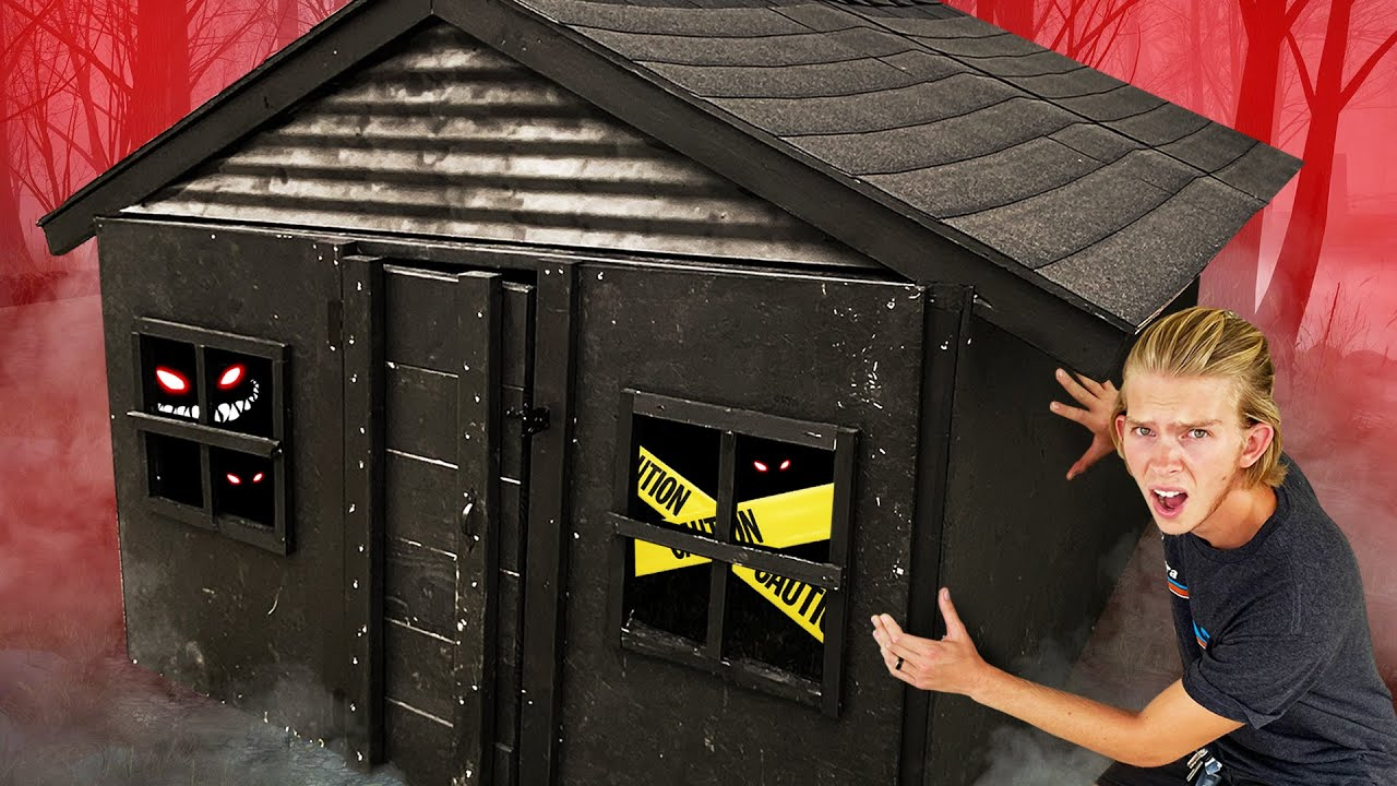 Haunted TINY House Challenge! *EXTREME SCARE PRANKS*