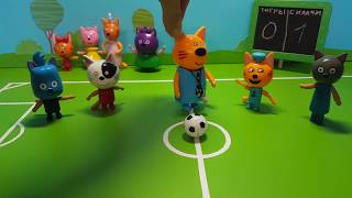 Три кота Футбольный матч