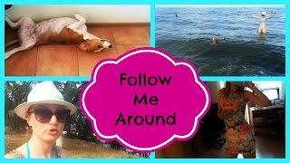Влог: проведите со мной целый день Thumbnail