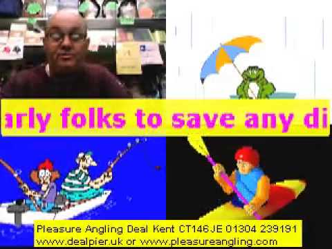 bank holiday weather @pleasure angling tackle & bait shop deal kent 25th may