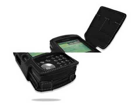 Melkco Tasche Leder Etui cuir ~Samsung I760  Book Type (Black) Special Edition