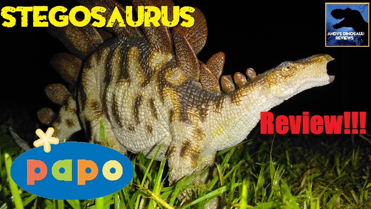 55079-nuevo 2019 Colour Papo dinosaurios-Stegosaurus