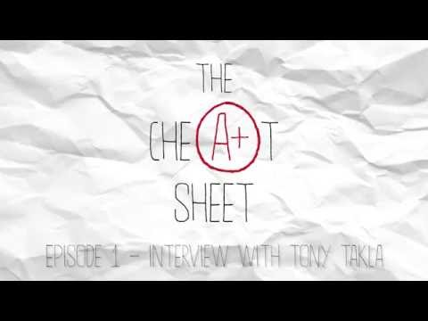 The Cheat Sheet Ep. 1 - Tony Takla