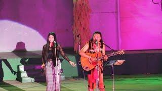 Reuben Mashangva with Sammi Yumnam | Tangkhul folk singer | Sangai Festival Manipur