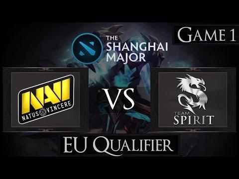 Dota 2 Na'Vi vs Team Spirit | Shanghai Major 2016