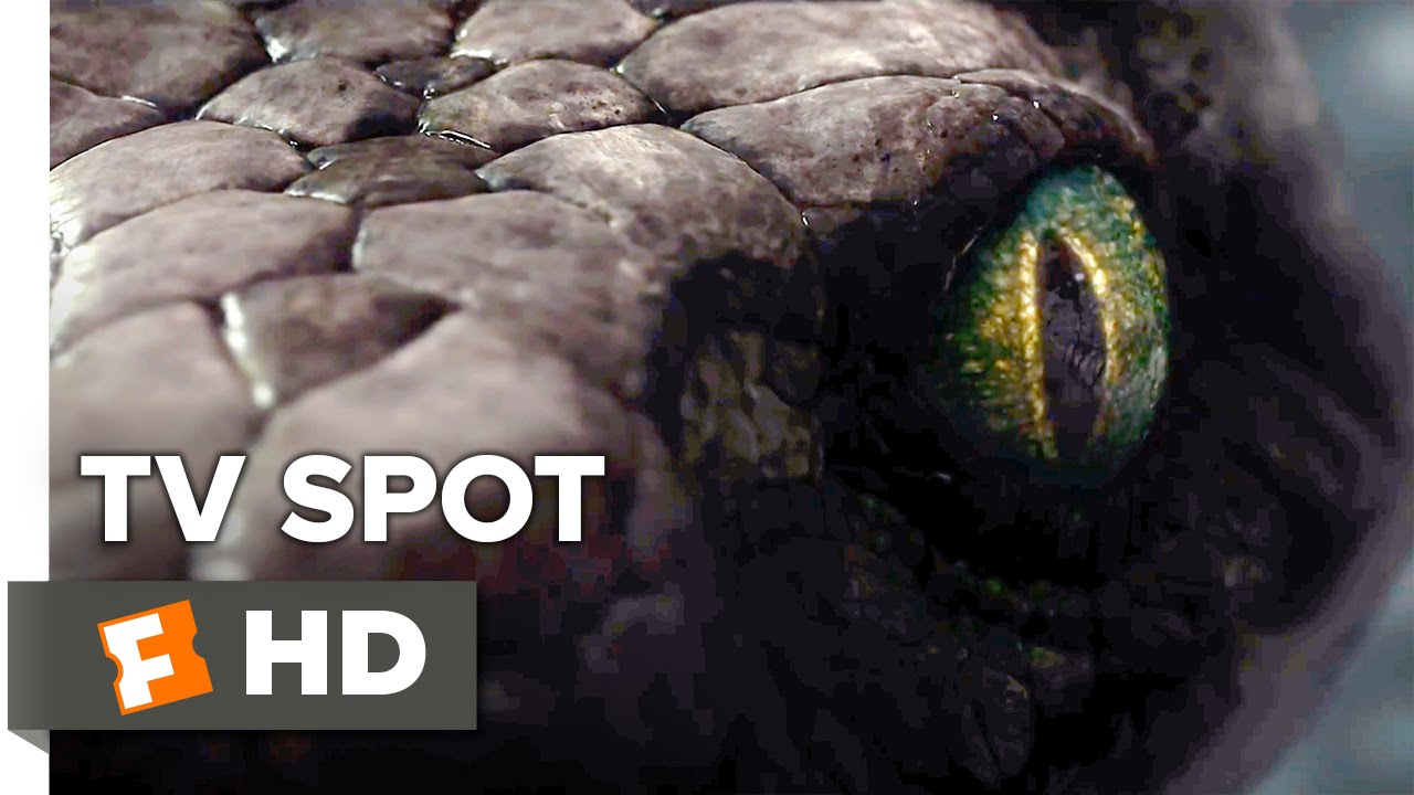 The Jungle Book Tv Spot Scarlett Johansson Is Kaa 2016