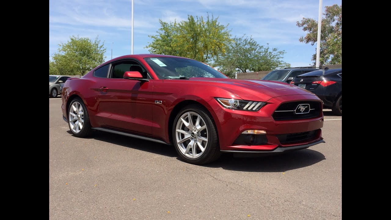 2015 Ford Mustang 50L GT 50th Anniversary Edition Walkaround