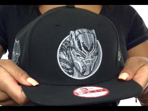 Black Panther  RETROFLECT SNAPBACK  Black Hat by New Era - YouTube c07afe93984
