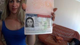 VLOG. Пришли паспорта с Визами в Америку. Дорога в США открыта. Встреча с нашим БЕНТЛИ. ГРИН КАРТА.