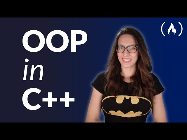 Object Oriented Programming (OOP) in C++ Course