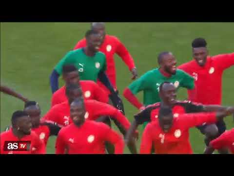Senegal squad  in training 2018 WC
