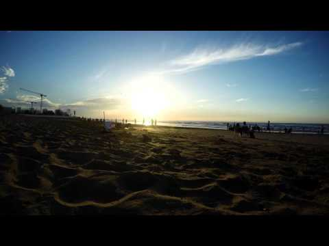 GoPro Hero 4 Black- Timelapse Sunset- Oman-Shatti Qurum 2016 4K
