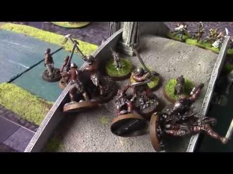 Hobbit SBG Battle Report - Battle of Tharbad