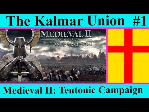 Kalmar Union #1 The Golden Company - Medieval II Total War - Teutonic Kingdoms