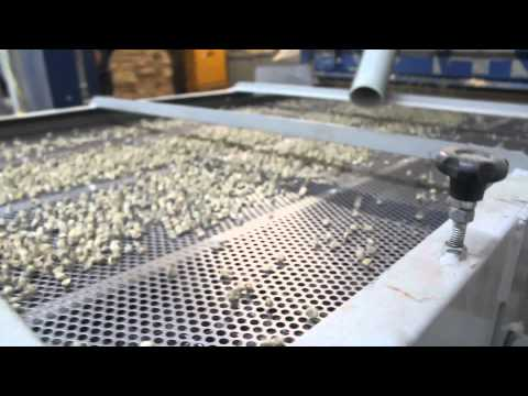 Green Coffee Processing: Size Grader